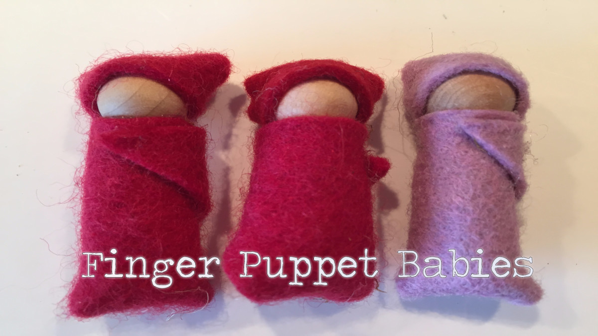 How to Make Finger Puppet Babies