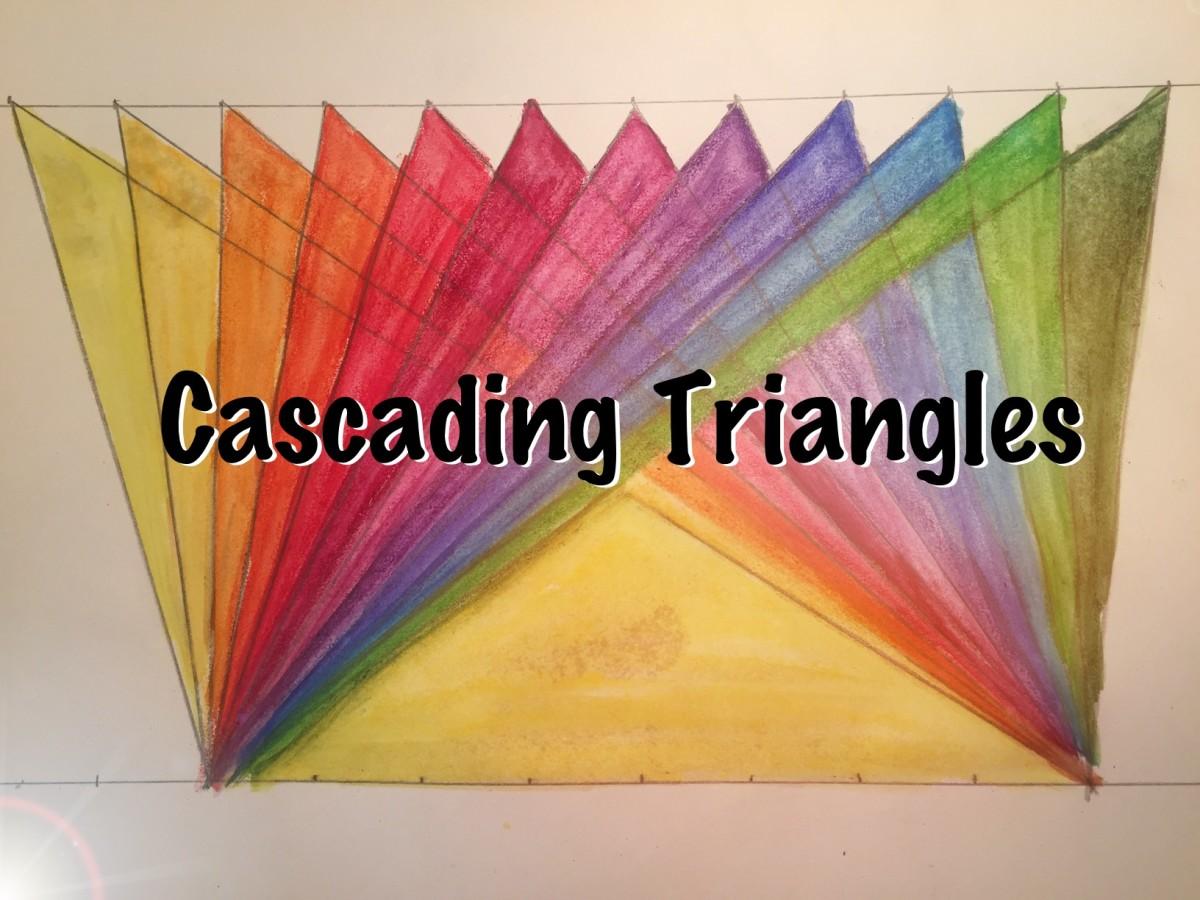 Waldorf Geometry: Cascading Triangles