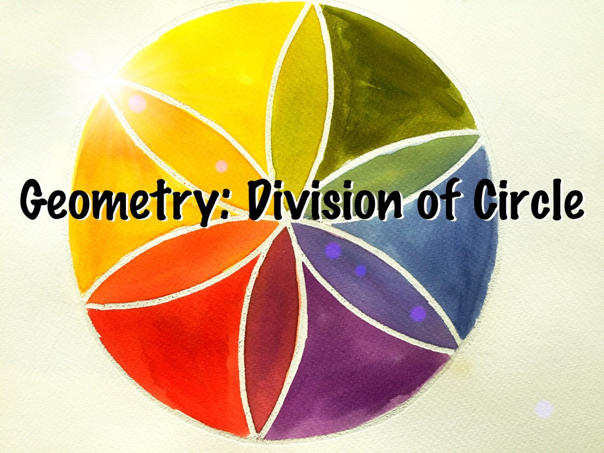 Six Division of a Circle: Geometry