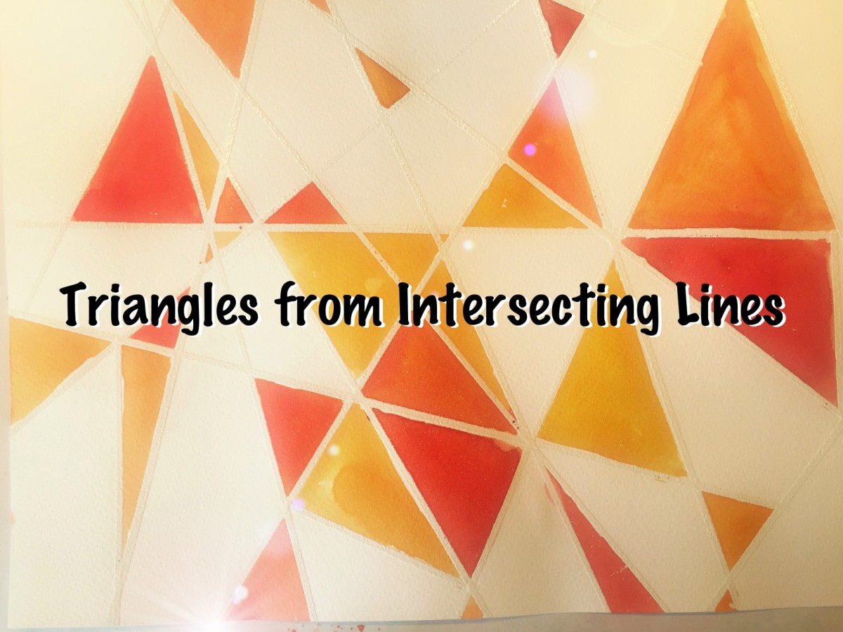 Geometry: Triangles from Intersecting Lines
