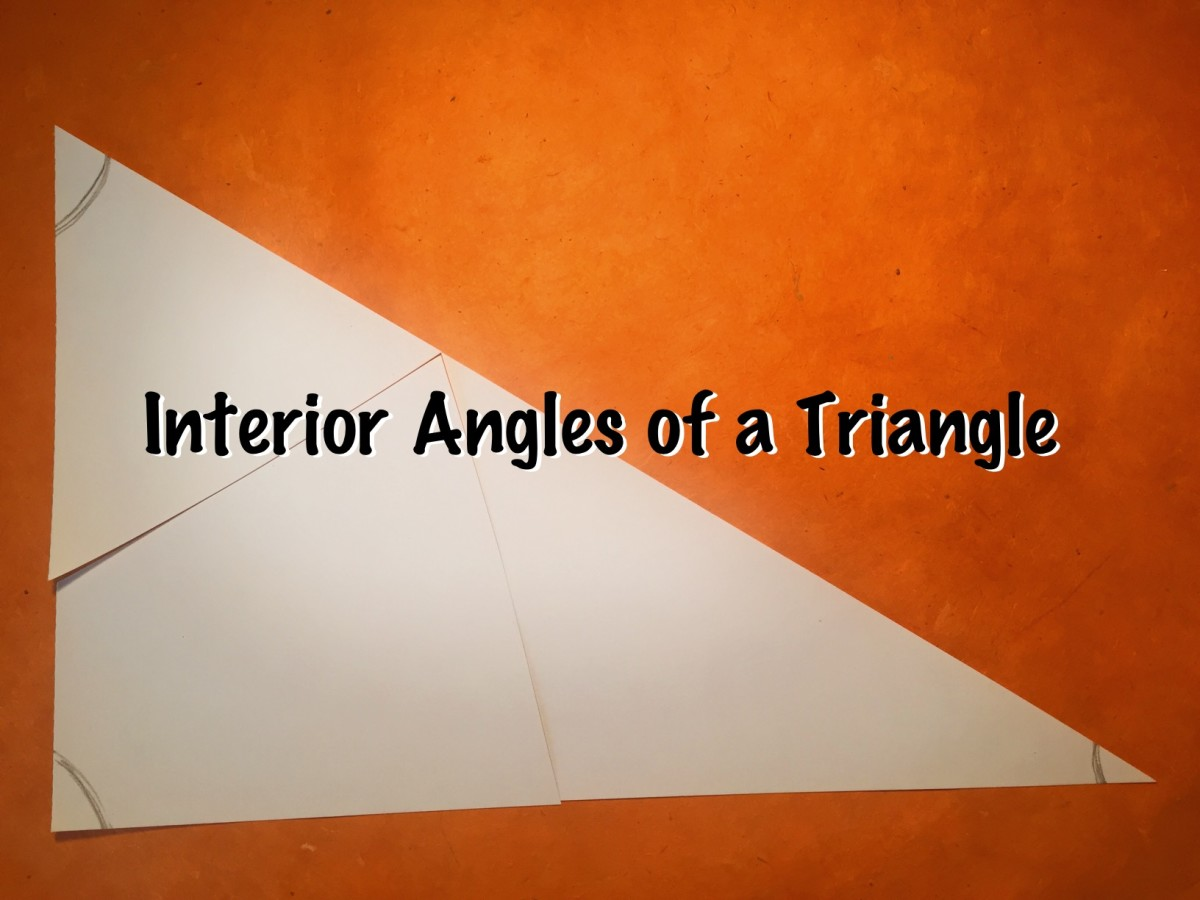 Interior Angles of a Triangle