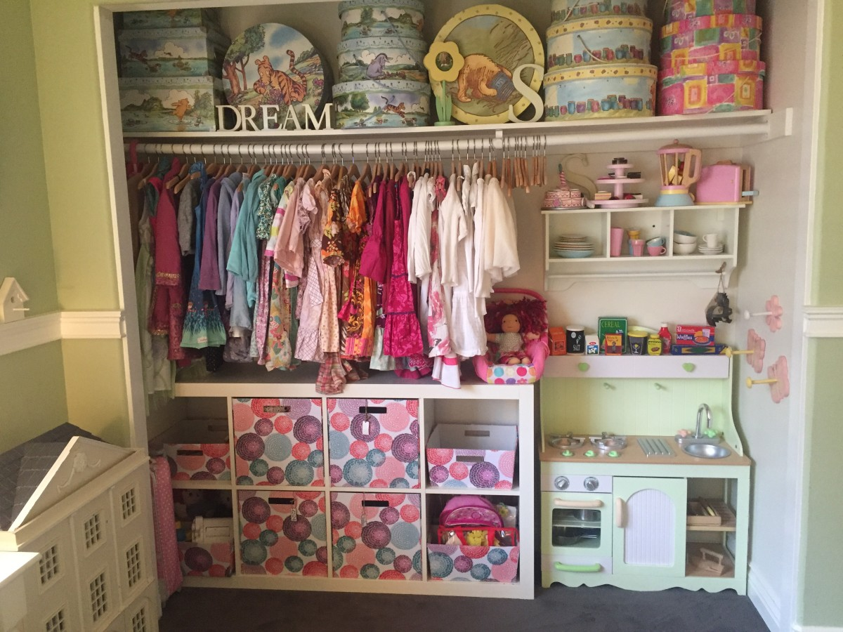 Kids' Closet Storage Solutions | Organization