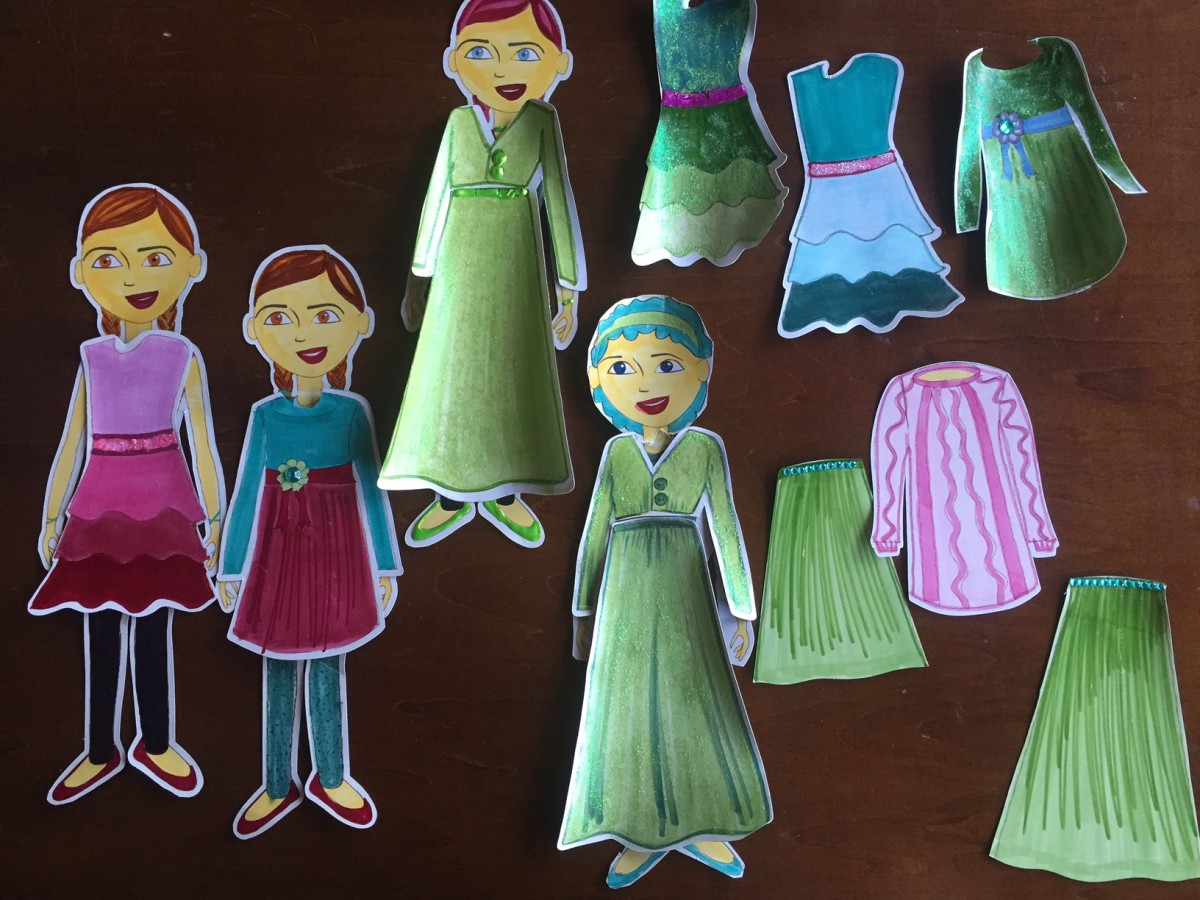 Paper Dolls on Magnetic Sheets