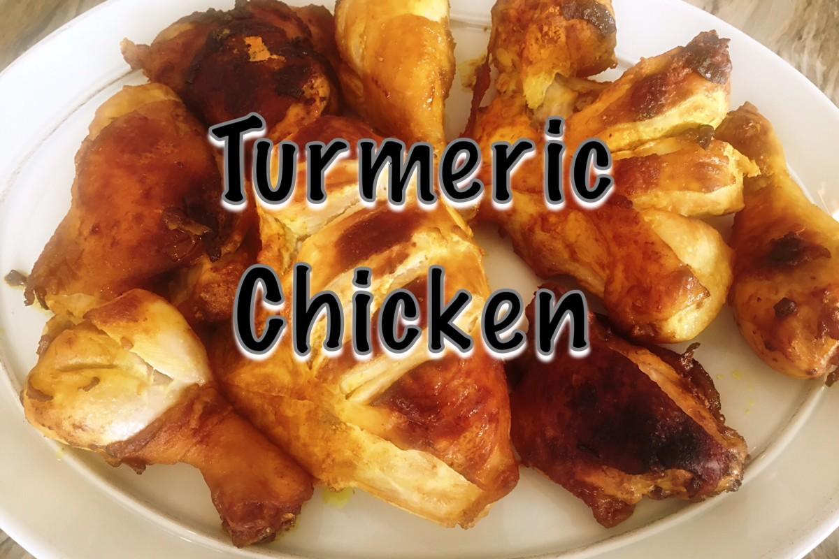 Turmeric Chicken for Adas Polo | Persian Recipe