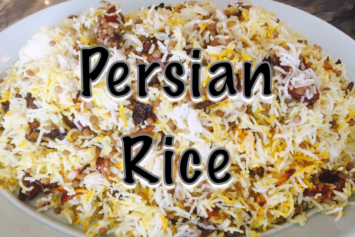 How to Make Persian Rice | Adas Polo