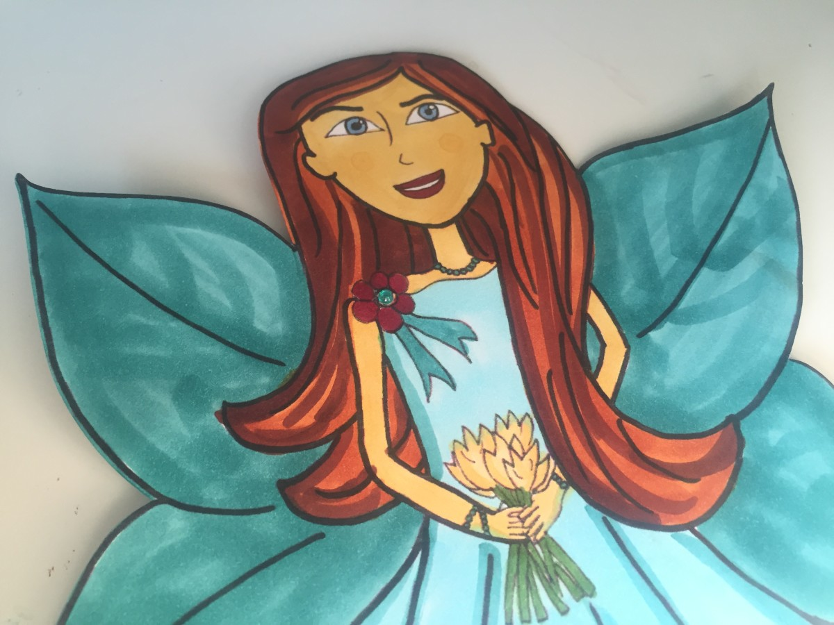 How to Make Fairy Paper Dolls | DIY Tutorial