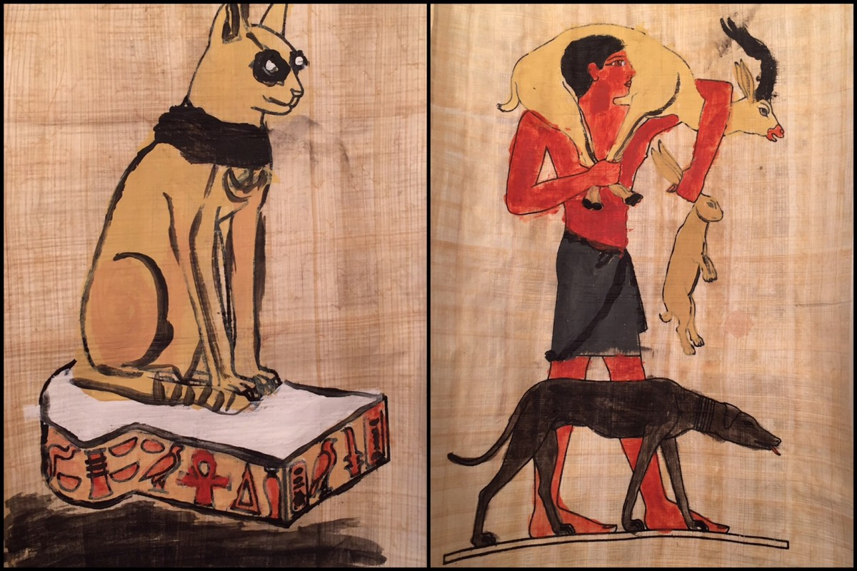Papyrus Painting | Ancient Egypt