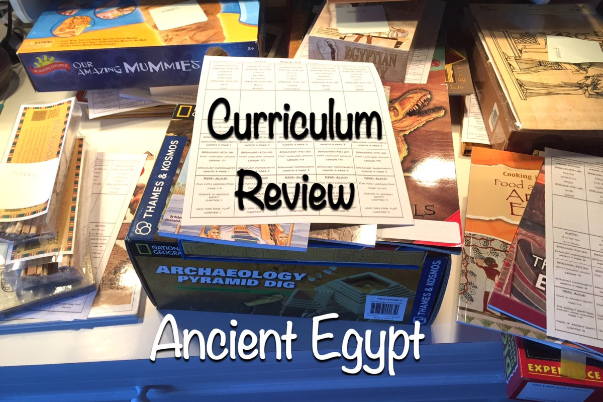 Curriculum Book Review | Ancient Egypt