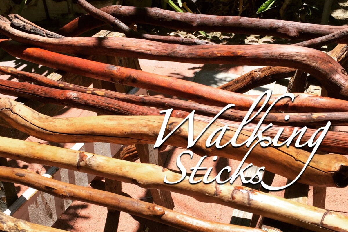 How to Make Hiking Sticks | Dust and Tribe