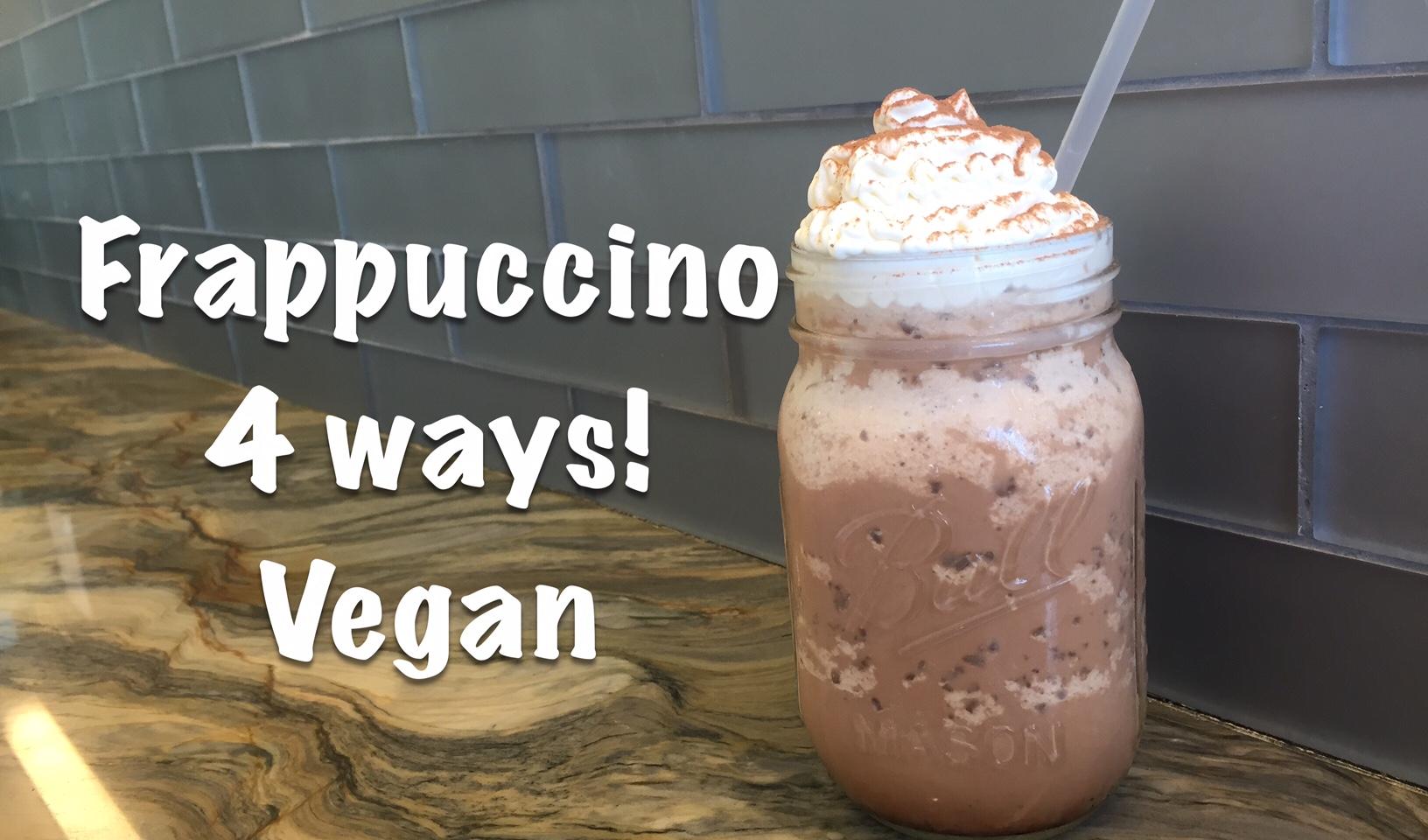 Frappuccino Blended Coffee | Vegan & Non-Vegan