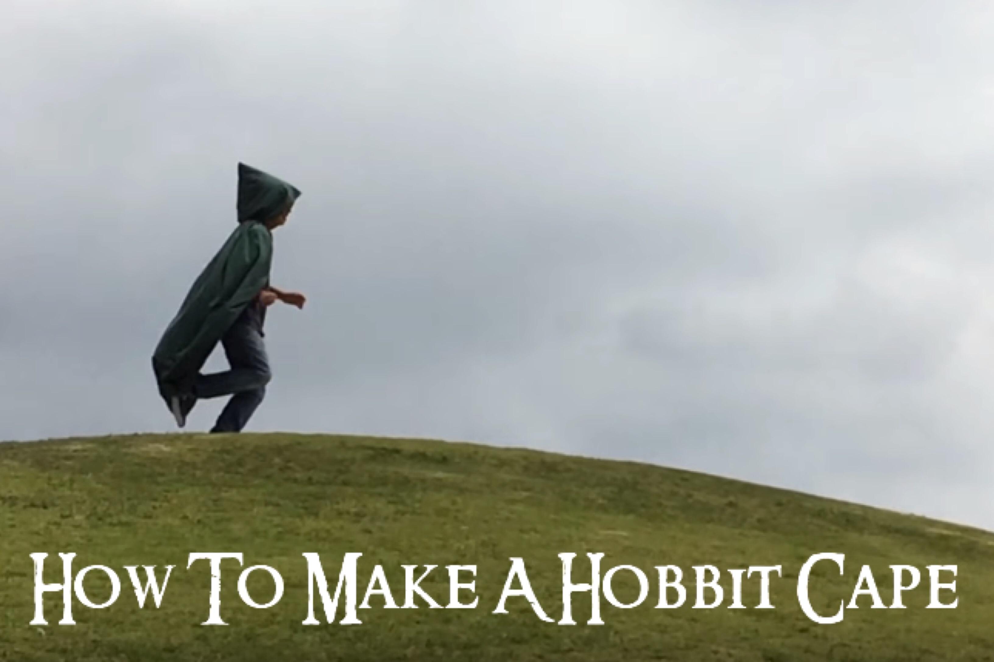 Hobbit Cape | Tutorial