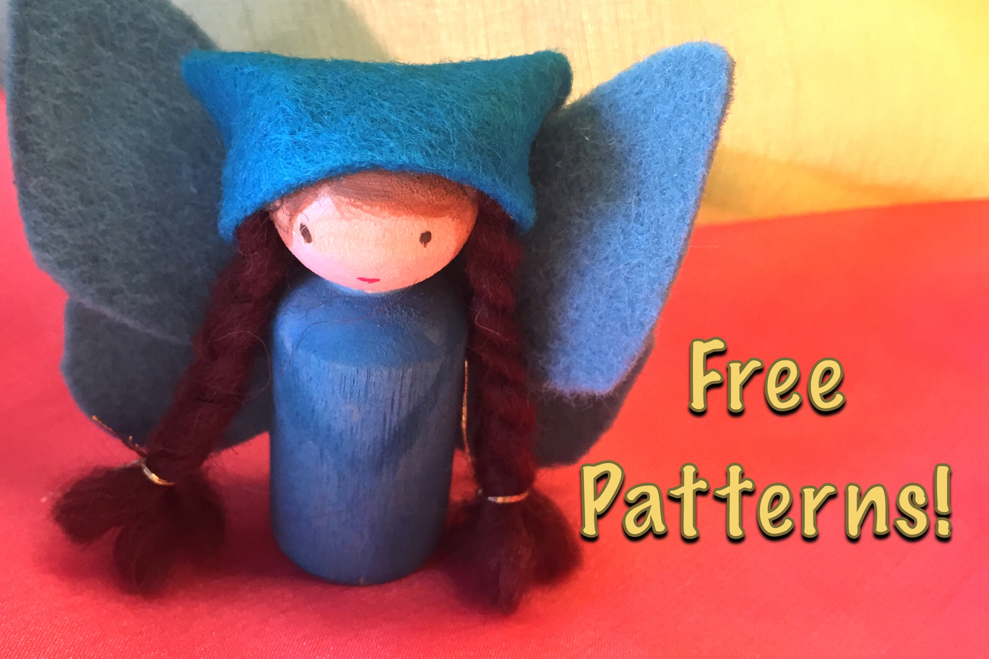Fairy Peg Doll | Tutorial