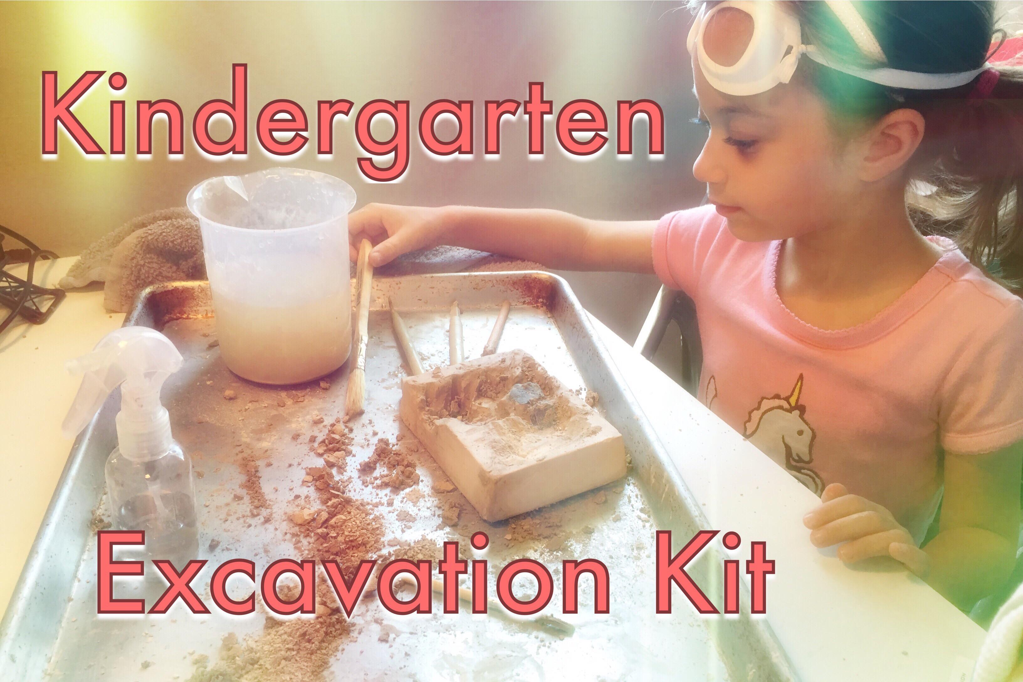 Rock Excavation Kit | Kindergarten