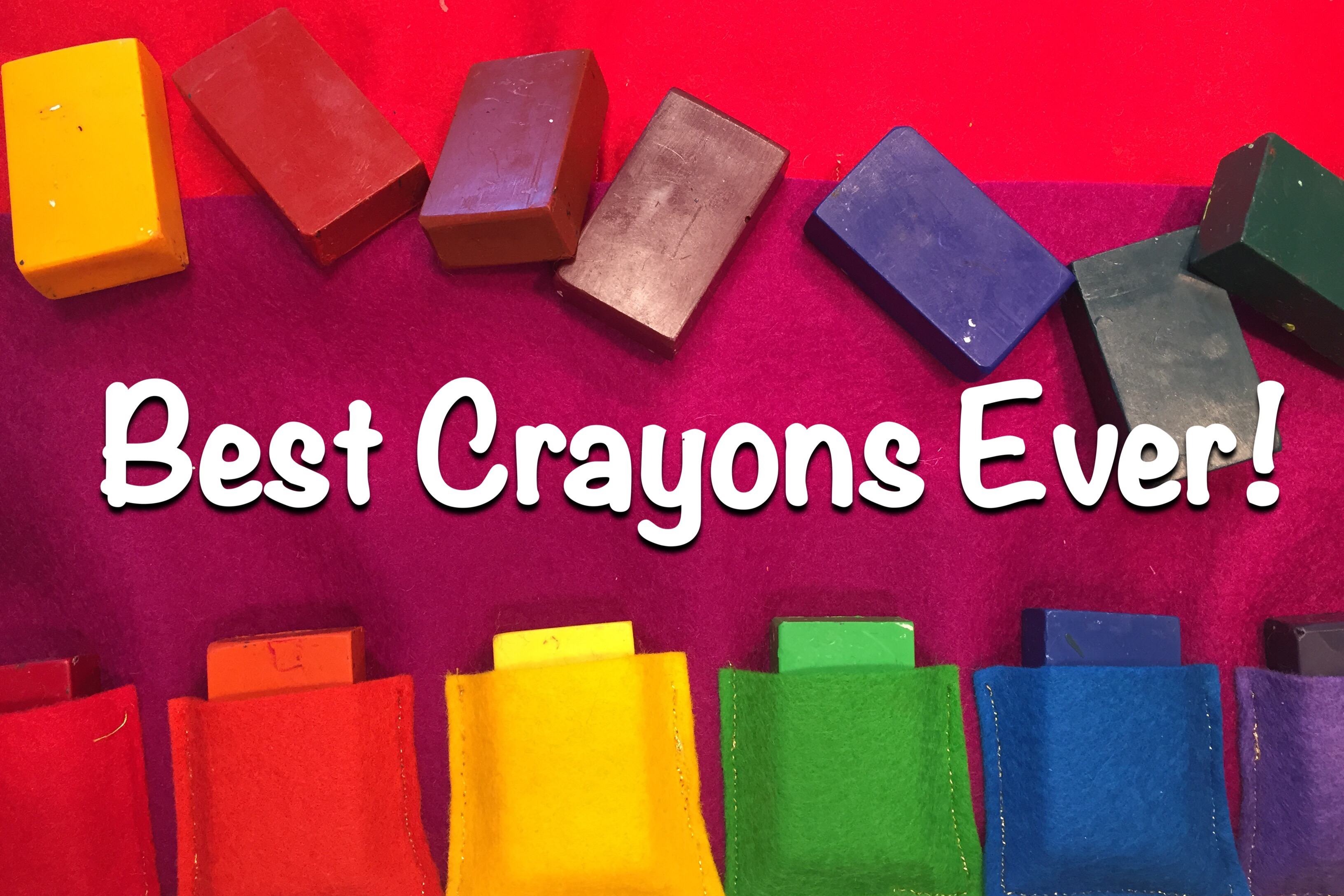 How To Make A Block Crayon Holder