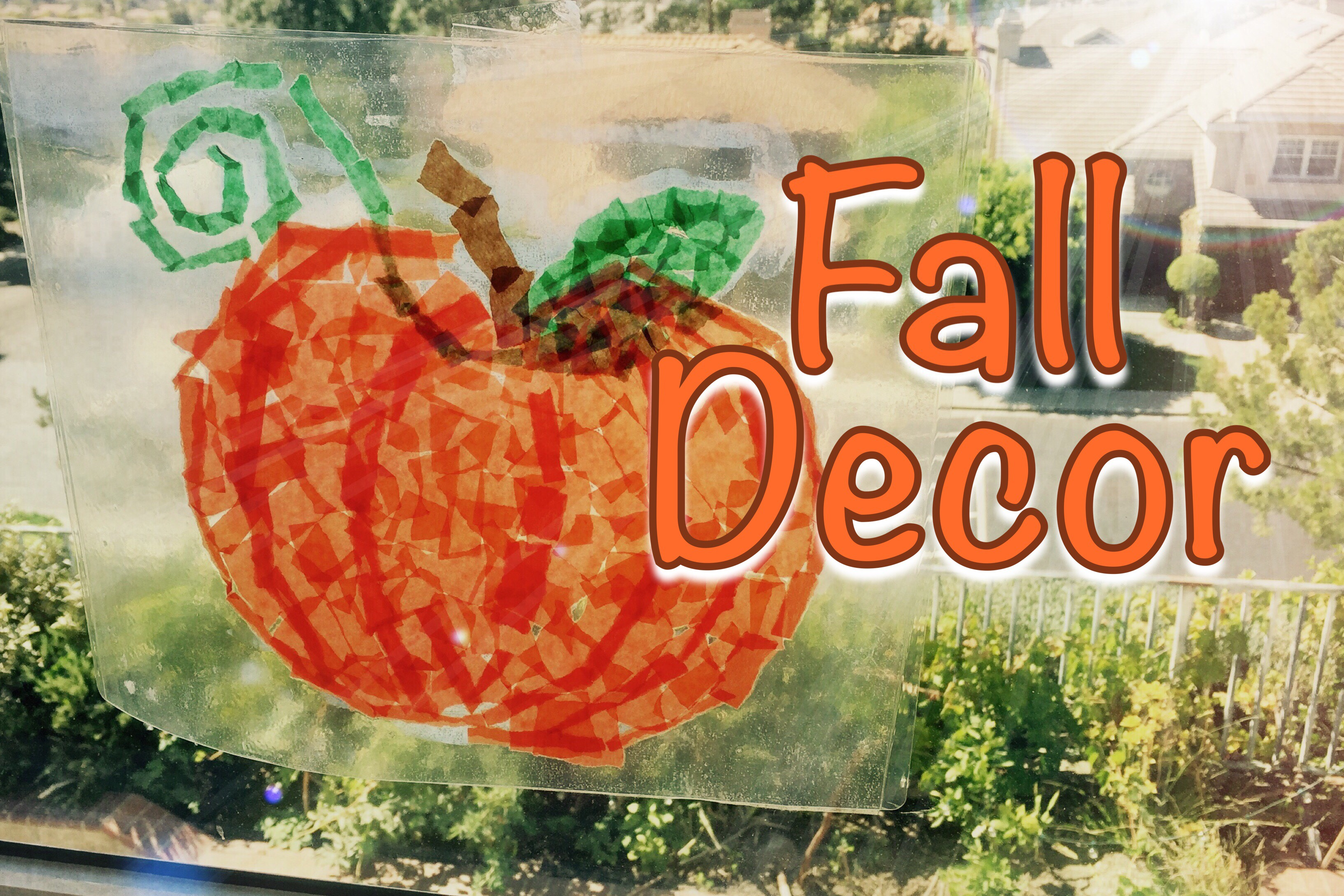 Autumn Decor | Kindergarten Activity