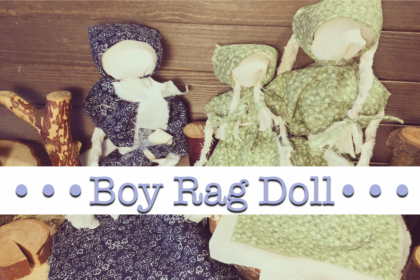 Boy Rag Doll Tutorial