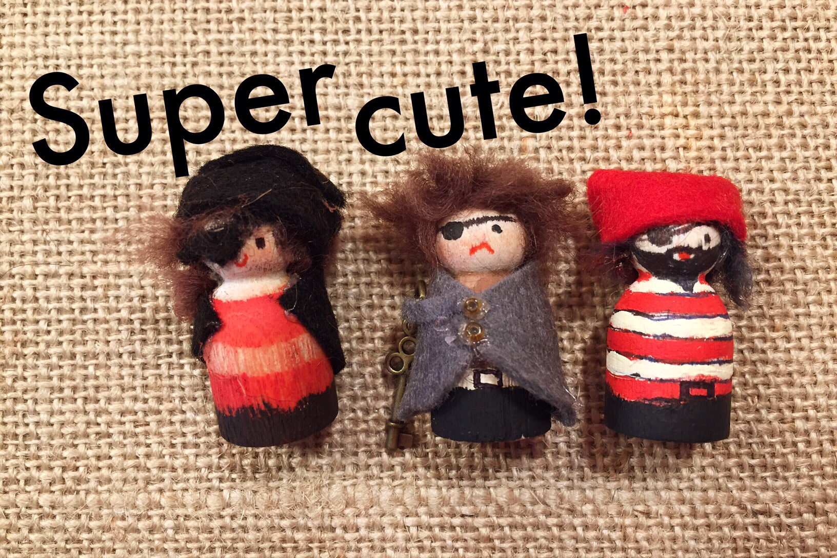 Pirate Peg Doll Tutorial