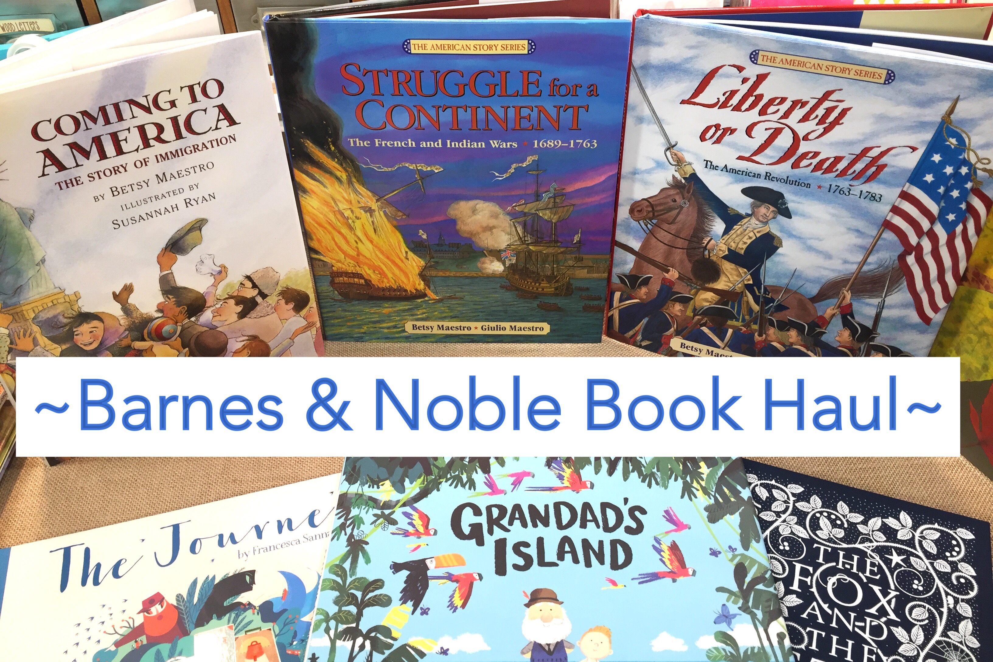 BARNES AND NOBLE BOOK HAUL | HOMESCHOOL