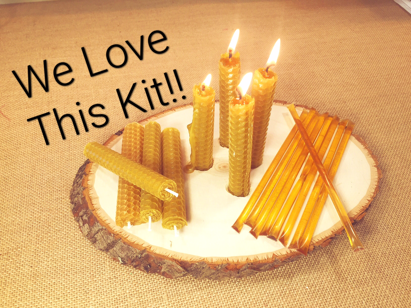 CANDLE ROLLING KIT