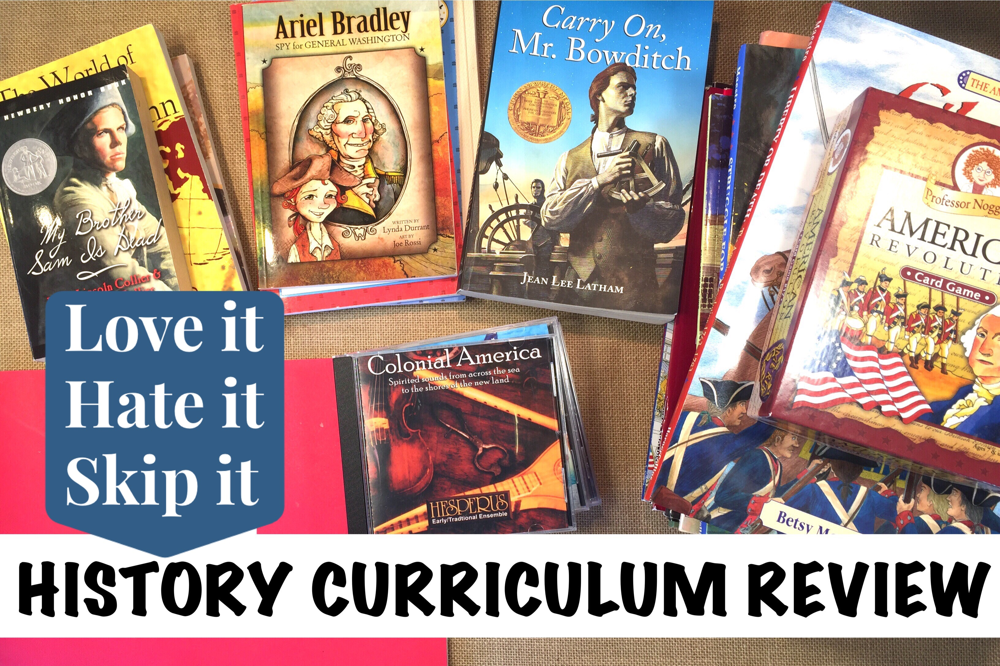 Curriculum Review | American History