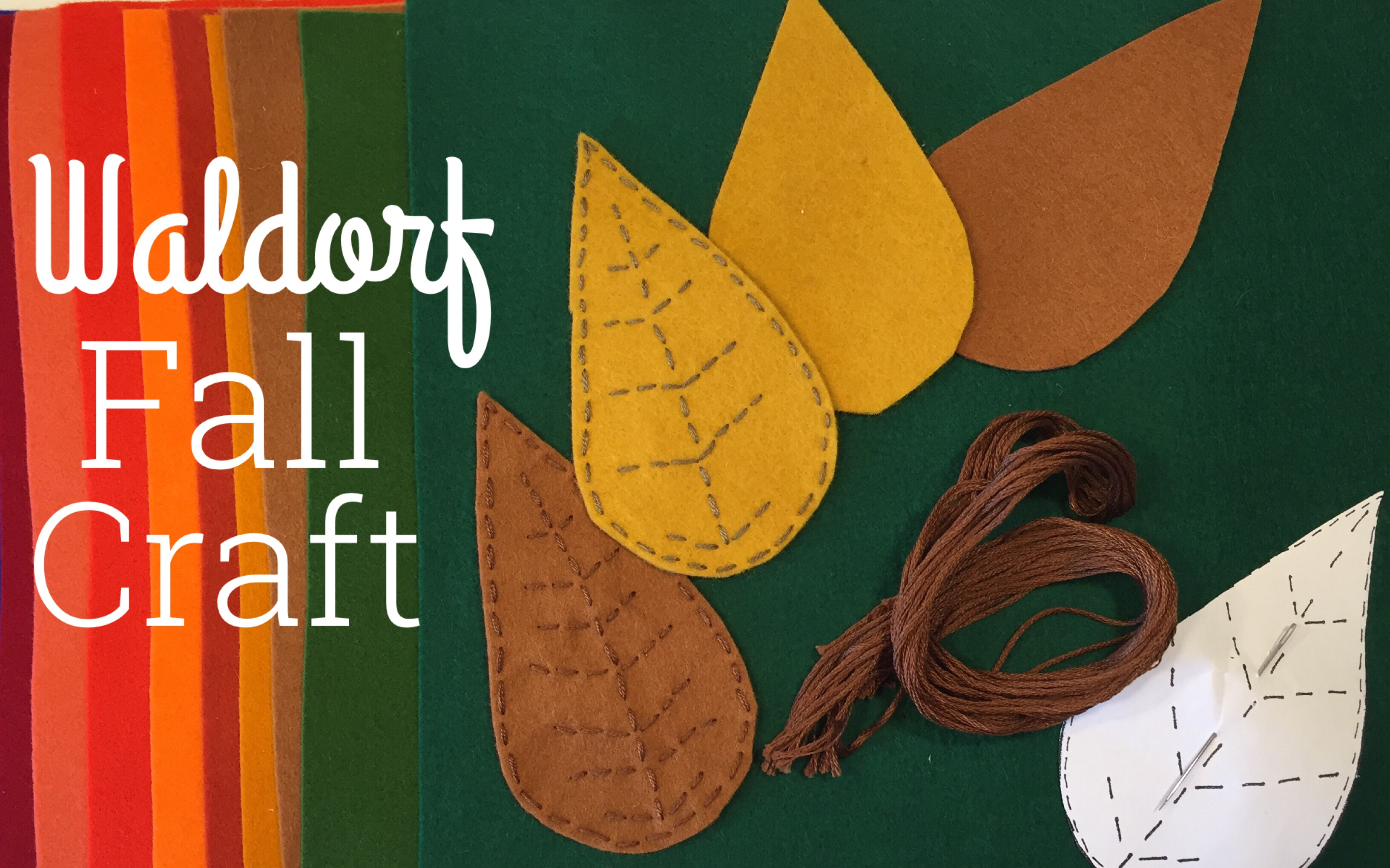 WALDORF FALL CRAFT