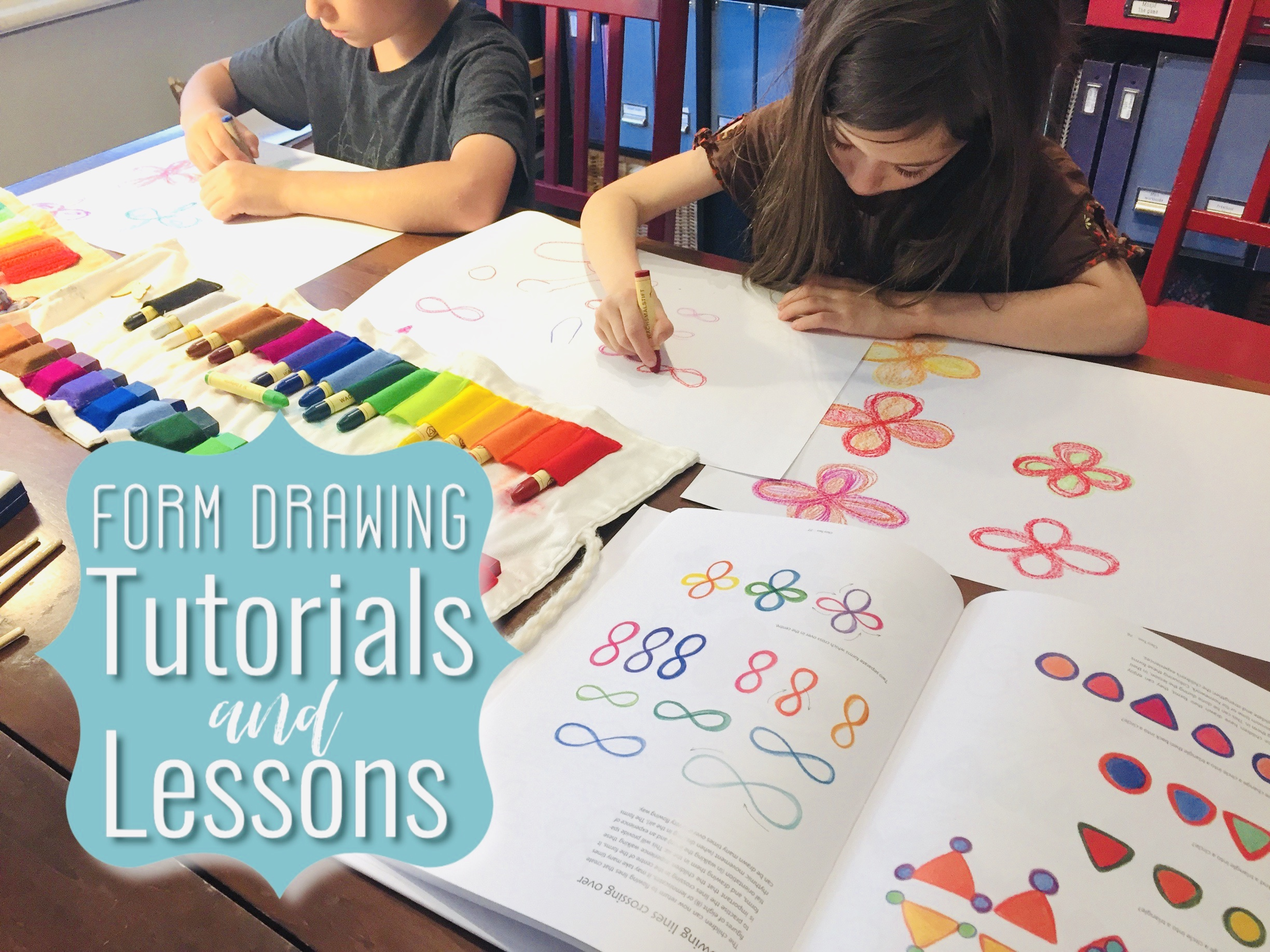 LIVE TUTORIALS | FORM DRAWING LESSONS