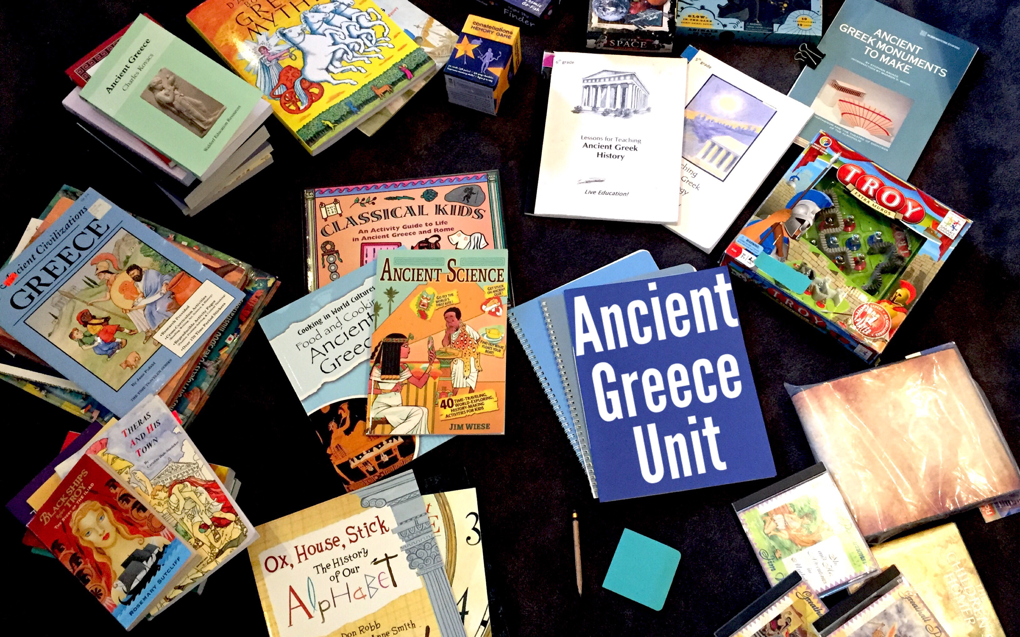HOW TO DO A UNIT STUDY | ANCIENT GREECE