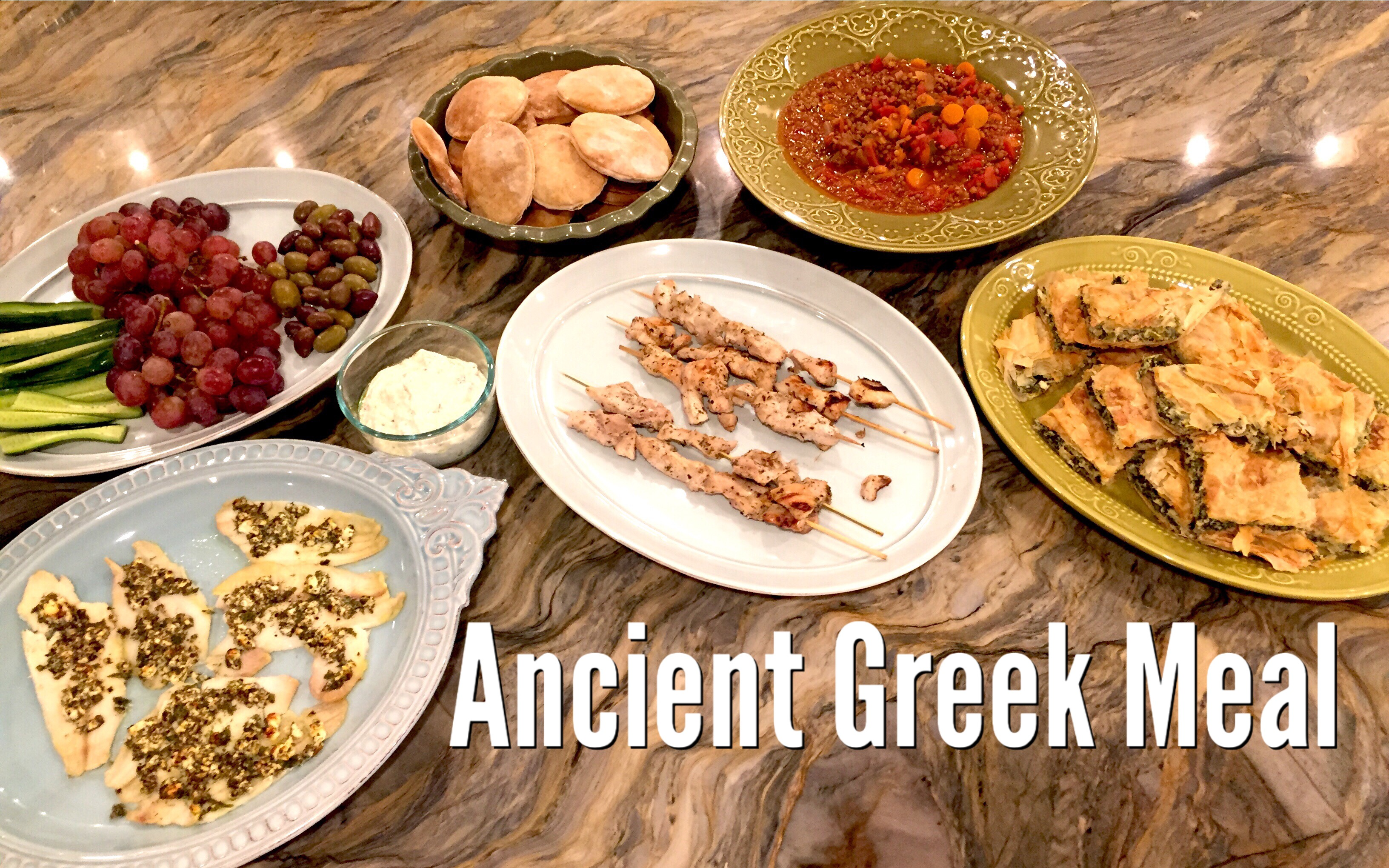 ANCIENT GREEK MEAL