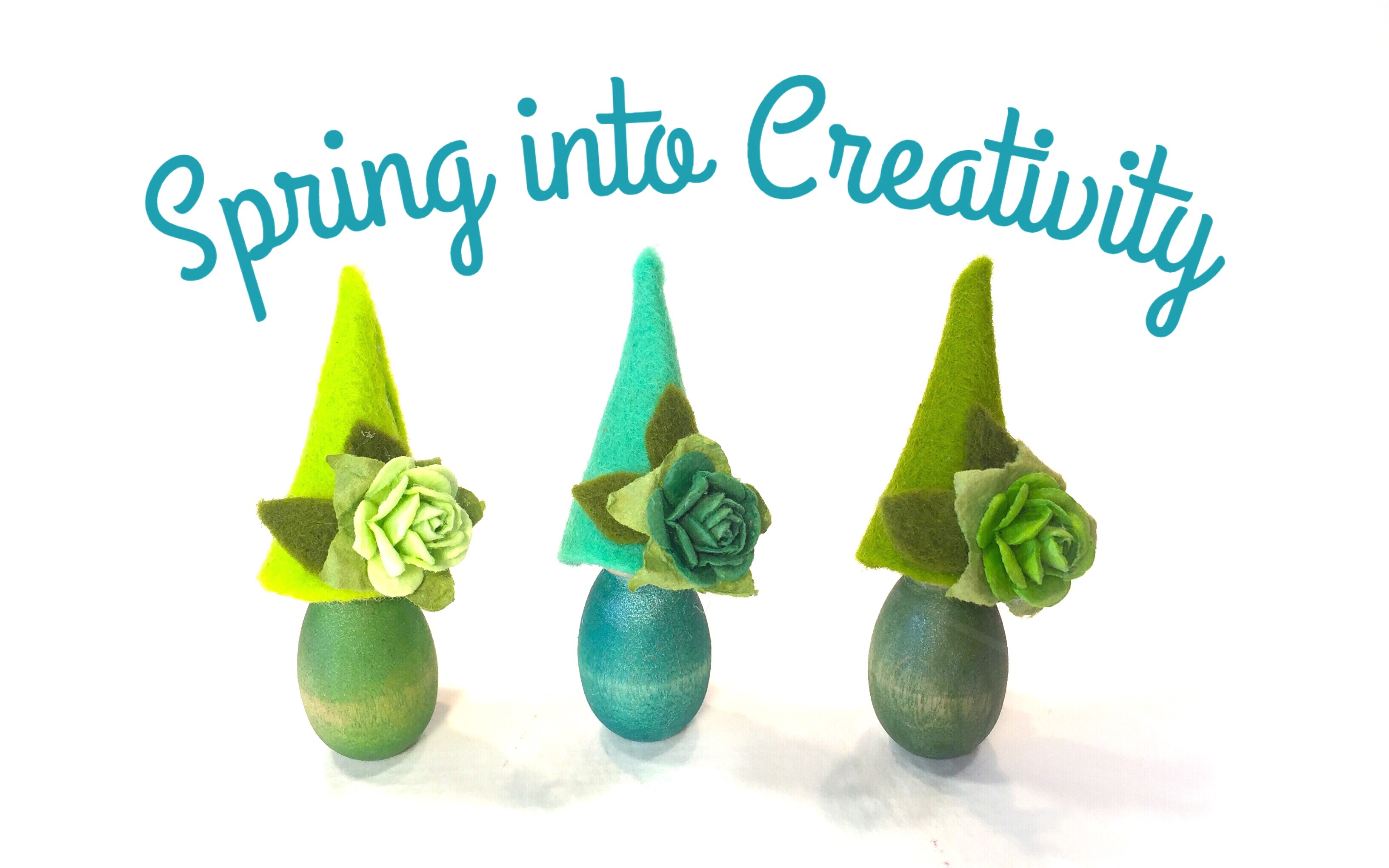 SPRING CRAFTS FOR KIDS + ADULTS | PEG DOLLS