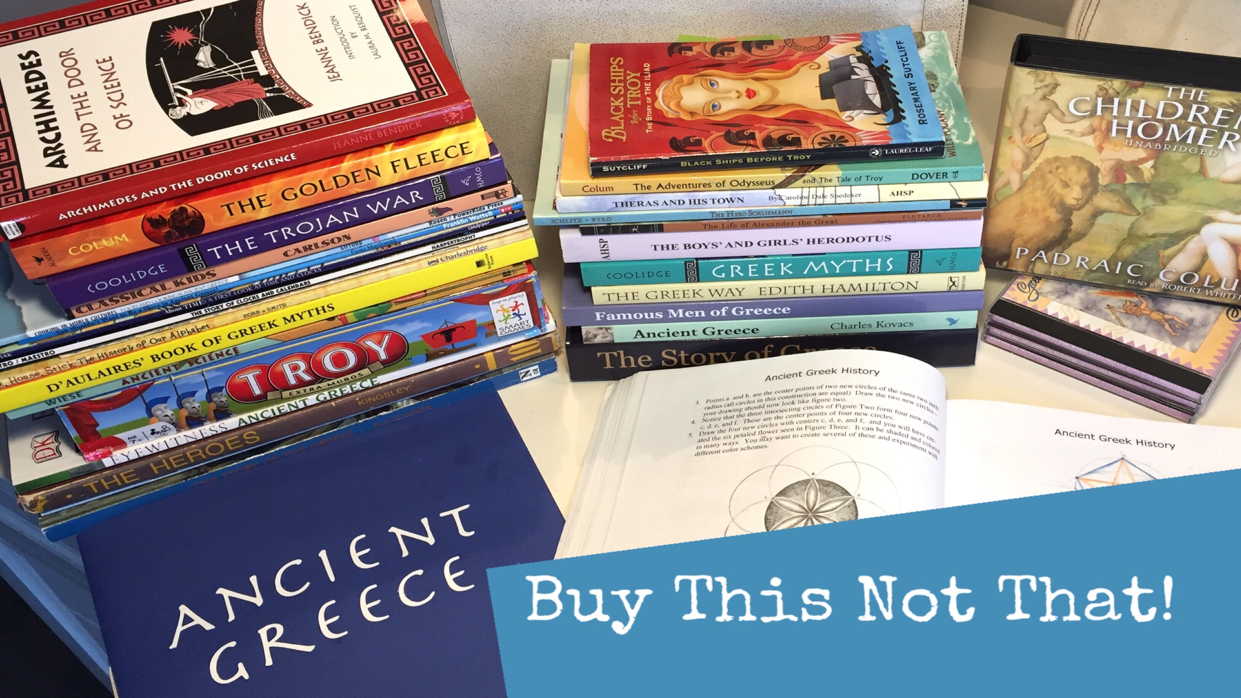 HOMESCHOOL HISTORY CURRICULUM REVIEW | ANCIENT GREECE
