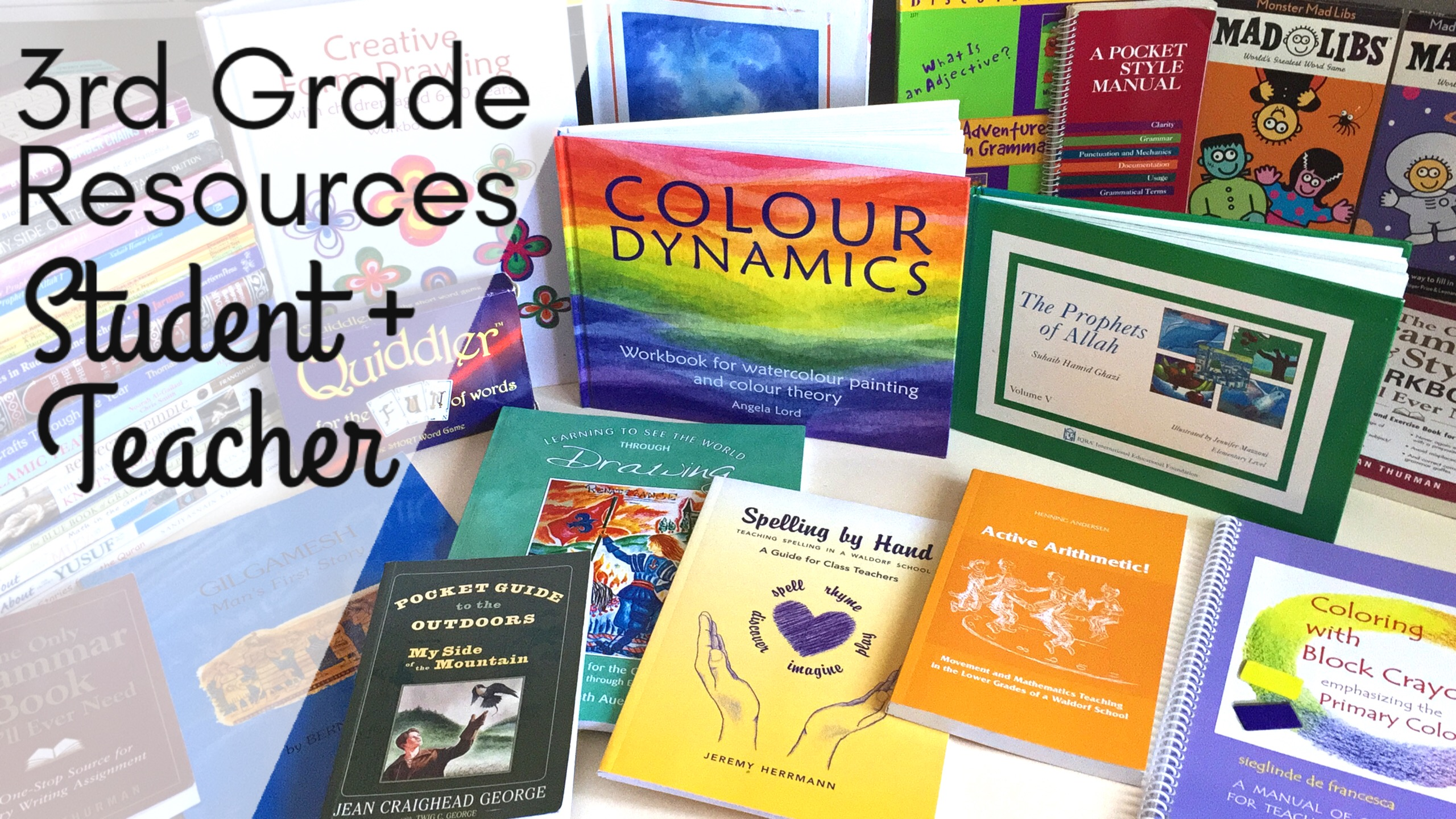 3RD GRADE HOMESCHOOL | BOOKS + RESOURCES