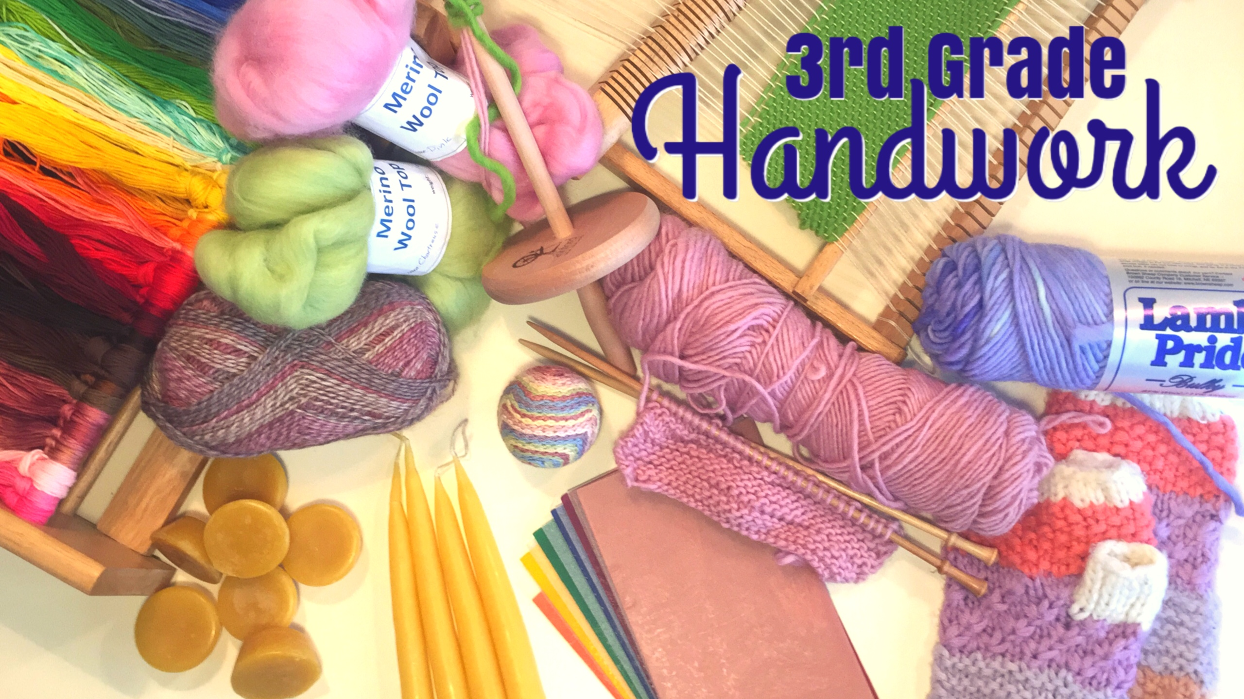 HANDWORK FOR THIRD GRADE