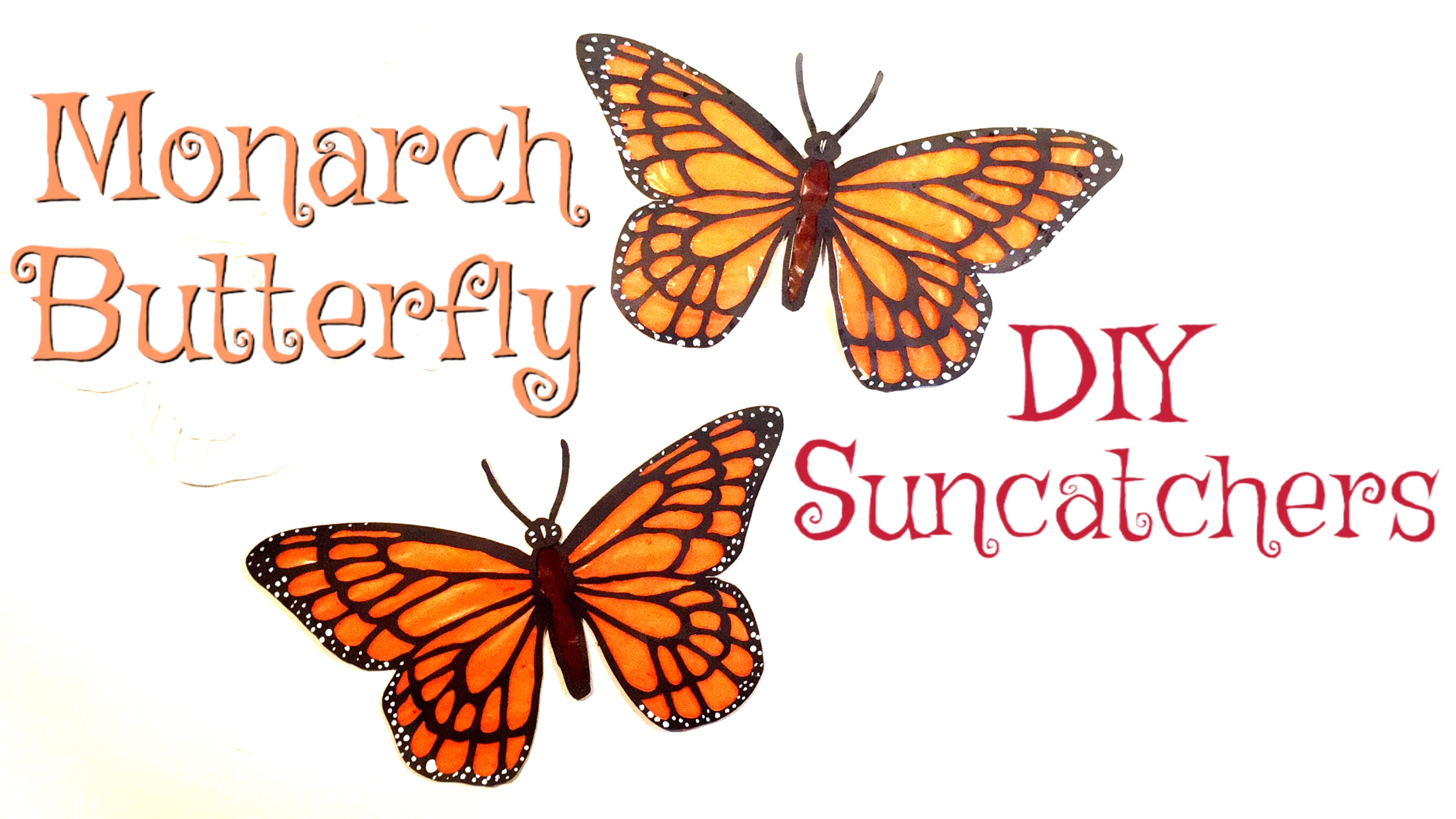MONARCH BUTTERFLY SUNCATCHER