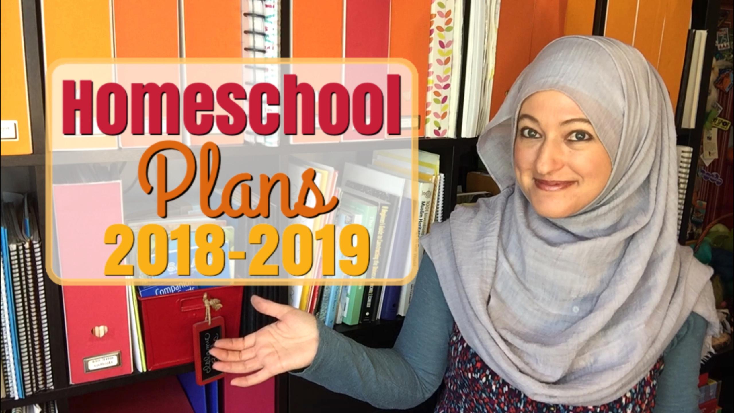 HOMESCHOOL PLANS FOR 2018-2019