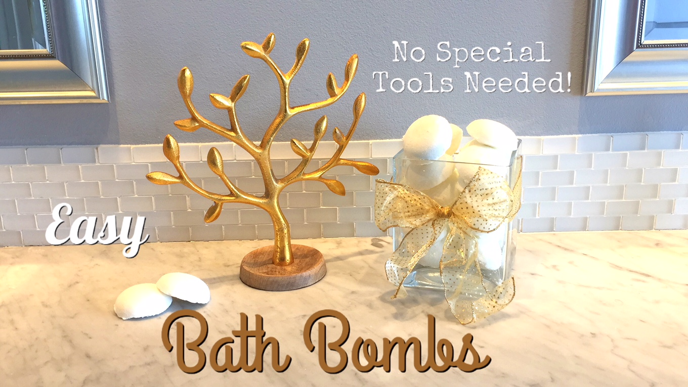 HOW TO MAKE BATH FIZZIES TUTORIAL