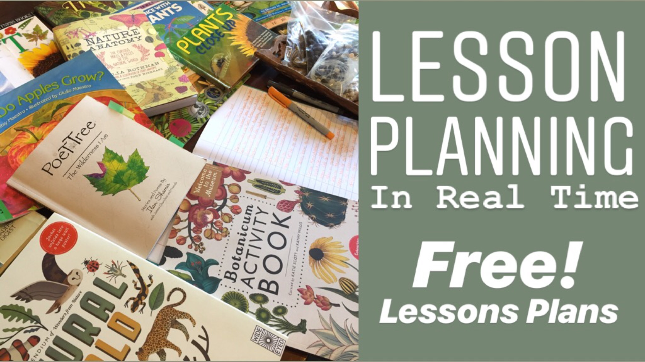 HOMESCHOOL LESSON PLANNING TUTORIAL