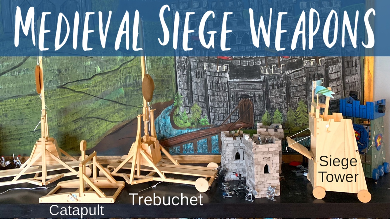 ALL ABOUT MEDIEVAL SIEGE WEAPONRY