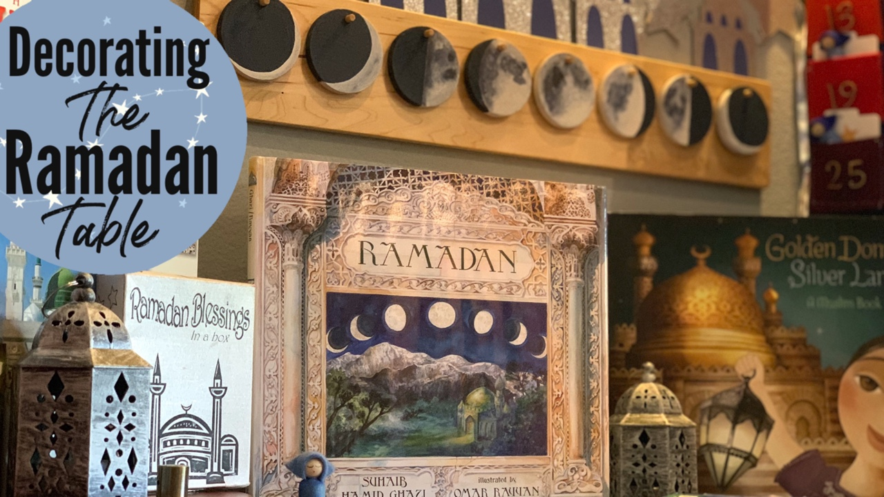 RAMADAN TABLE | DECORATING FOR RAMADAN