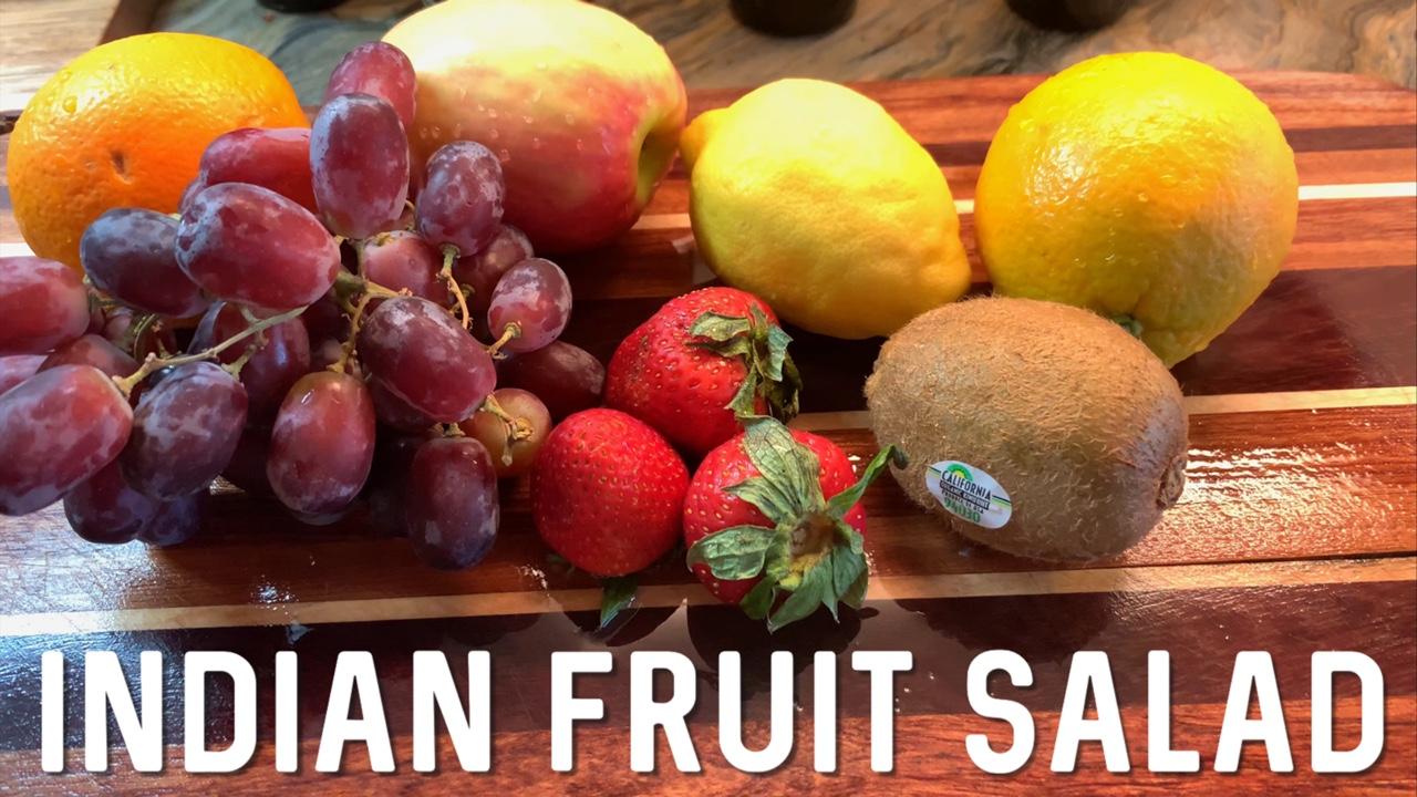 INDIAN FRUIT SALAD | FRUIT CHAAT