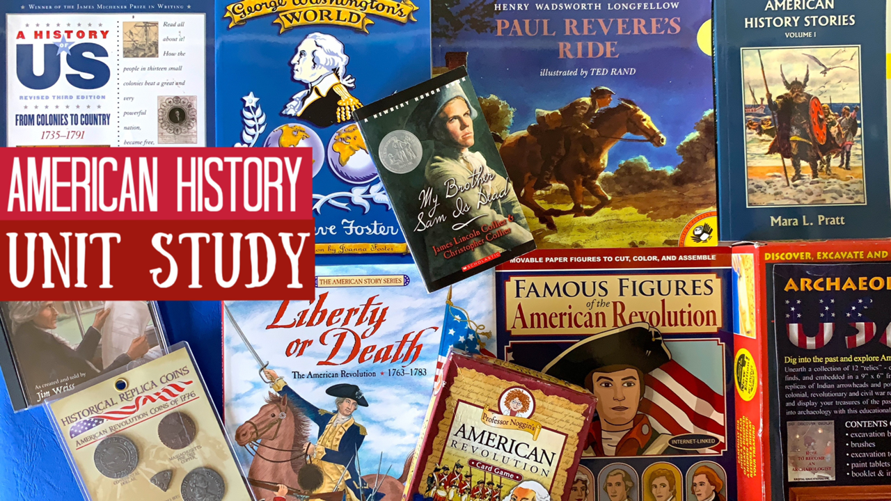 American History Unit Study| Revolutionary War