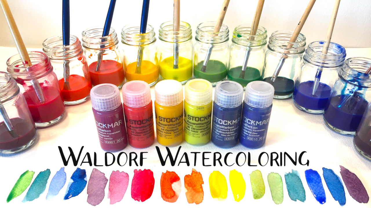 Waldorf Wet on Wet Painting