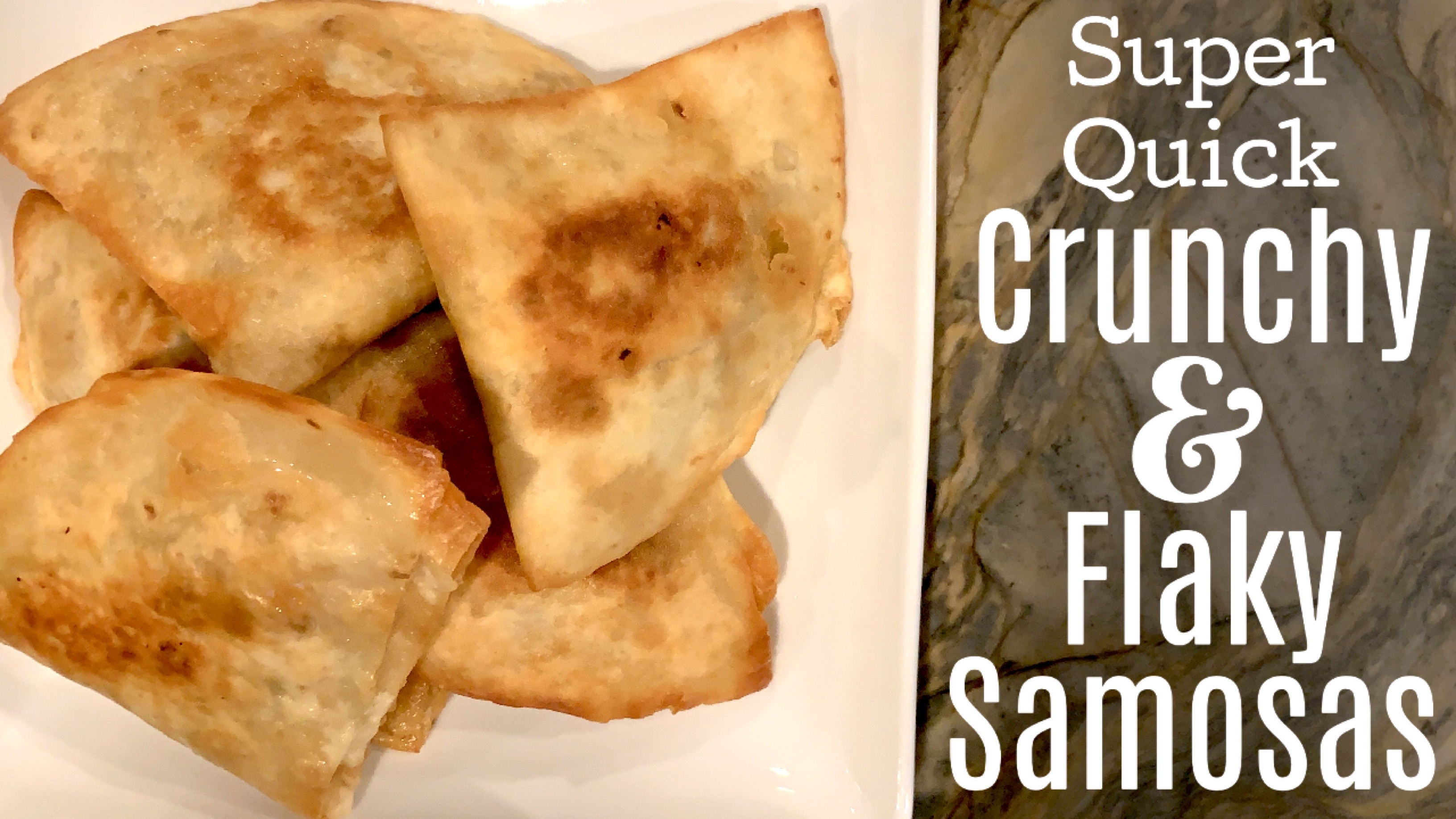 How to Make Indian Samosas with Tortillas